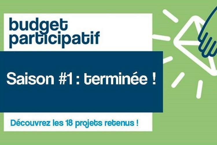 Budget participatif : édition 1 terminée !